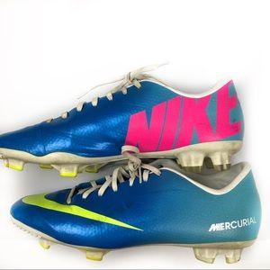 Nike Mercurial Men's Soccer Cleats Size 9.5